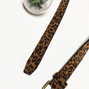 Nordstrom Accessories - Nordstrom Leopard Print Belt